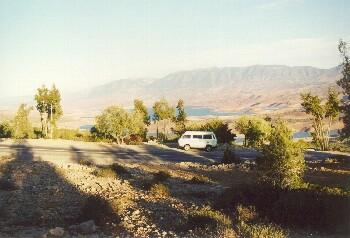 Der Stausee Bin el Ouidane, auf dem Weg zu den Ouzoud Wasserfällen