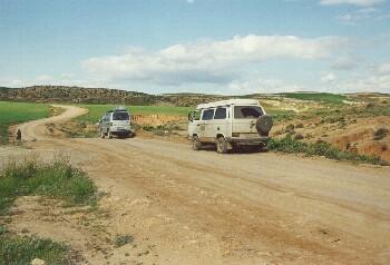 Piste zwischen Karriat Arkmane und Oujda