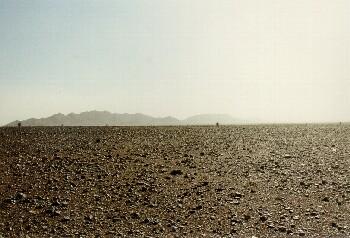 Steinwüste eine eindrucksvolle Landschaft