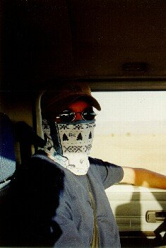 Die Weiterfahrt nach M'hamid war staubig