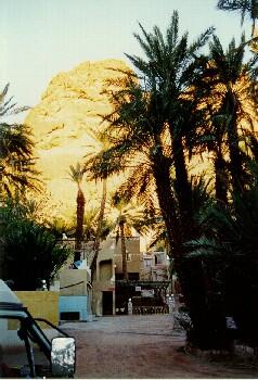 Camping Atlas Bei Tinerhir am Eingang in die Todra Schlucht