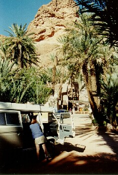 Camping Atlas kurz vor unserer Weiterfahrt nach Agadir, und Essauira